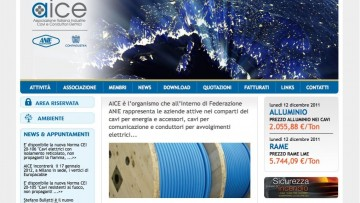 Il nuovo volto online di ANIE/AICE