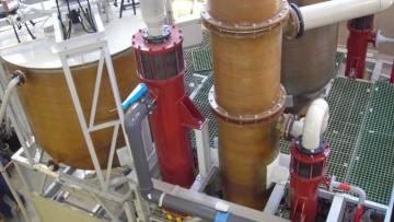 Gli impianti per le acque in calo nel 2011