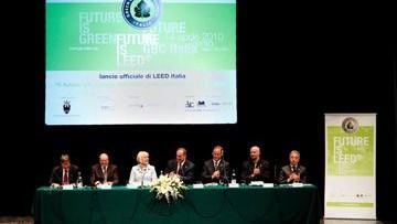 """Presentazione ufficiale di """"Leed Italia per territori e quartieri ecosostenibili""""."""