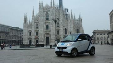 Car sharing a flusso libero, la 'svolta' di Milano