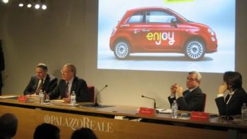 A Milano parte Enjoy, il car sharing che viaggia sul web