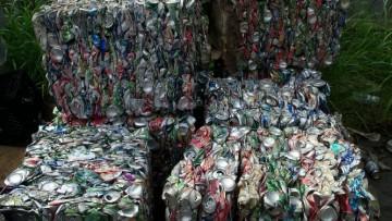 Lattine di alluminio riciclate, l'Europa e' virtuosa