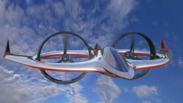Dall'industria del materiali compositi arriva l'aereo-elicottero di 007