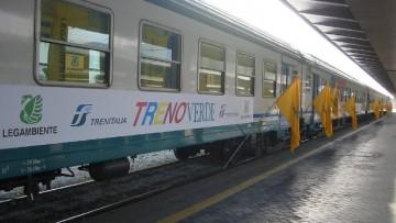 Contro lo smog e per citta' piu' smart, il Treno Verde Legambiente 2014 prende il via