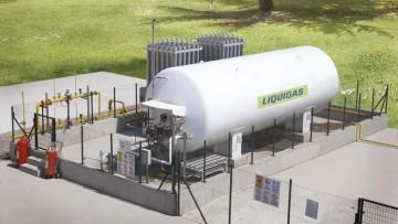 Attivato un impianto industriale di gas naturale liquefatto
