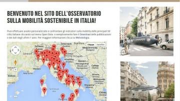 Mobilita' sostenibile in Italia: arrivano gli open data