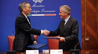Italia e Stati Uniti insieme per lo sviluppo del nucleare