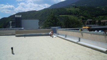 Le soluzioni Triflex per la manutenzione della scuola elementare di Bressanone