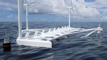 Poseidon, energia dal vento e dalle onde in un unico impianto
