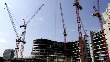Costruzioni: crollano gli appalti nel Lazio