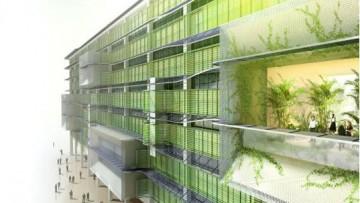 Il palazzo del futuro assomiglia a un organismo vivente