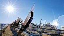 Solare a concentrazione da record in California